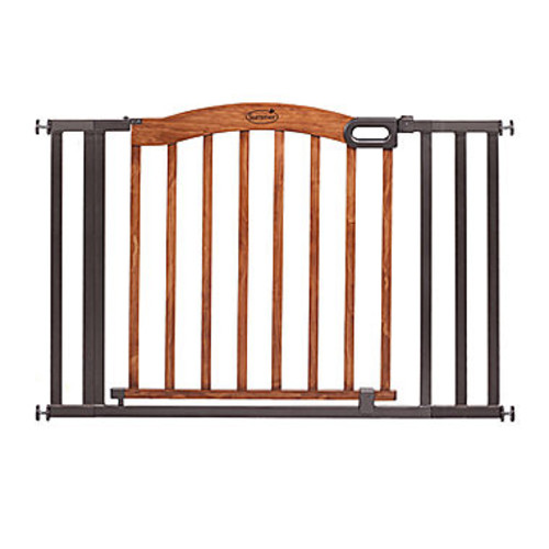 HOMESAFE by Summer Infant Decorative Wood and Metal 5-Foot Pressure Mounted Gate