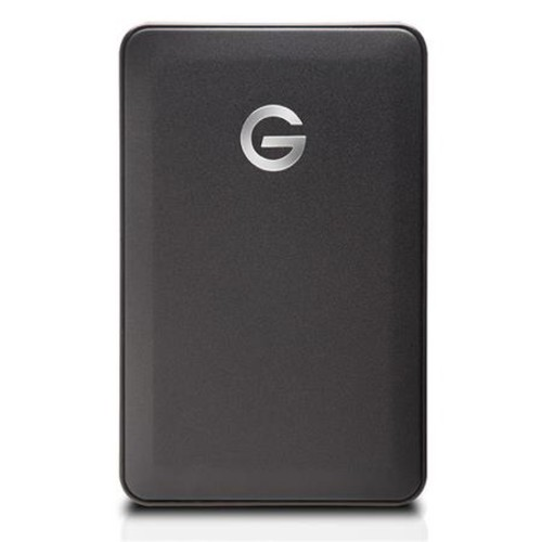 G-Technology G-Drive Mobile Portable 2TB Hard Drive, USB 3.0, 5200RPM, Black 0G04860