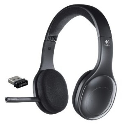Logitech H800 Bluetooth Wireless Headset with Mic for PC, Tablets and Smartphones [Black, ..Only Bluetooth 2.0]