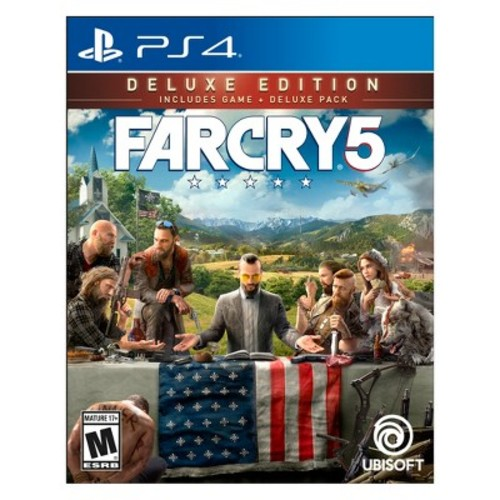 Far Cry 5 Deluxe Edition, Ubisoft, PlayStation 4, 887256028978