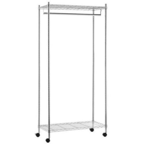 Honey-Can-Do Garment Rack, -, Metal, GAR-01120