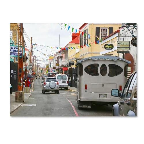 Trademark Fine Art CATeyes 'Virgin Islands 7' Canvas Art 22x32 Inches