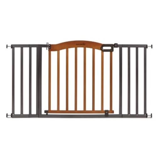 Summer Infant Walk Thru Decorative Wood and Metal Expansion Baby Gate