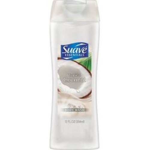 Suave Essentials Tropical Coconut, Creamy Body Wash 12 oz