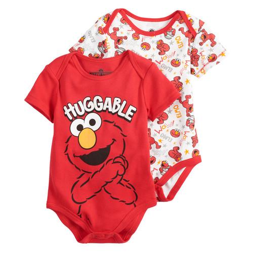 Baby Boy Sesame Street Elmo 2-Pack