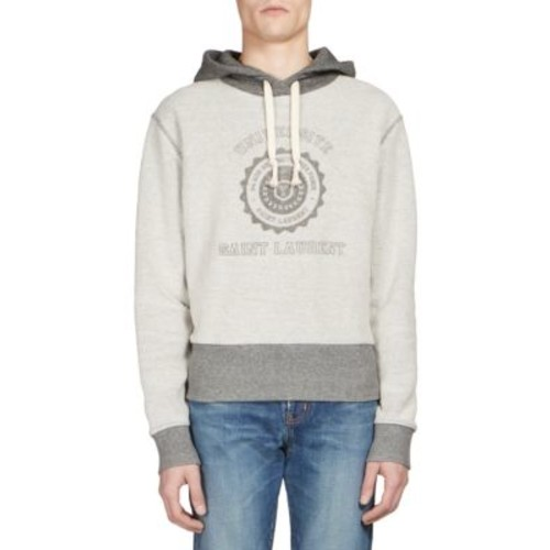 SAINT LAURENT Universite-Print Hoodie