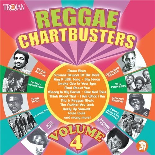 Reggae Chartbusters, Vol. 4 [CD] [PA]