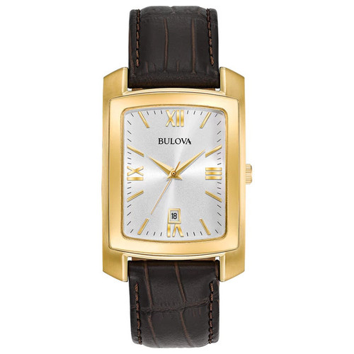 Bulova Men's Strap Watch 97B162