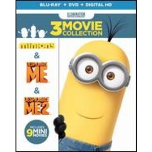 Despicable Me 3-Movie Collection [Blu-ray/DVD] [6 Discs]