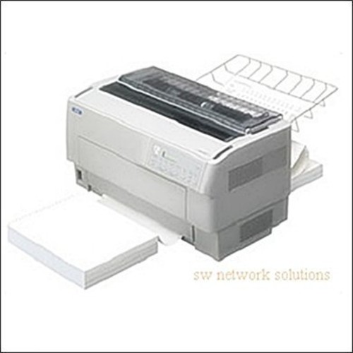 Dfx-9000 serial impact printer (high volume, 9-pin, wide format, 9-pin, serial, parallel and usb interfaces) - color: light gray