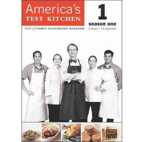 America's Test Kitchen: The Complete 1st Season [2 Discs] [DVD]