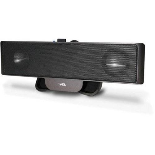 Cyber Acoustics Portable USB Laptop Speaker - Designed to travel (CA-2880)