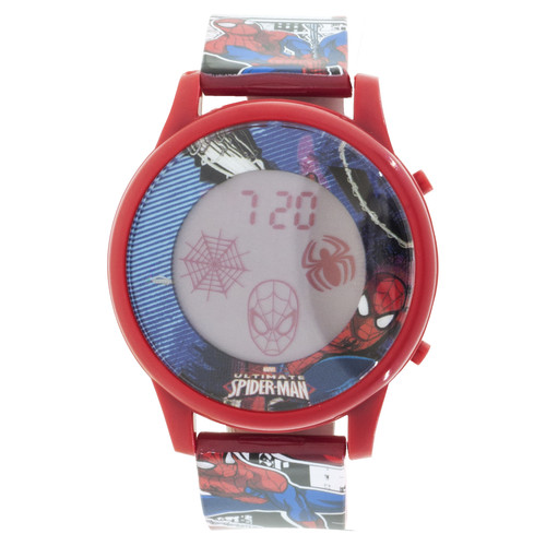 Spiderman Animation LCD Watch