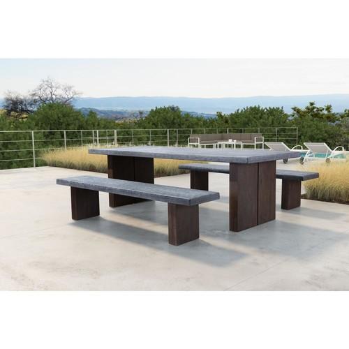 ZUO Windsor Wood Outdoor Bench