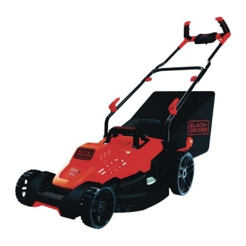 Black+Decker 17 in. 12 Amp Corded Electric Lawnmower Mulching Capability(BEMW482BH)