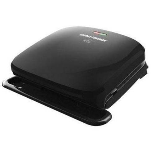 George Foreman 4-Serving Removable Plate Grill GRP3060B Black