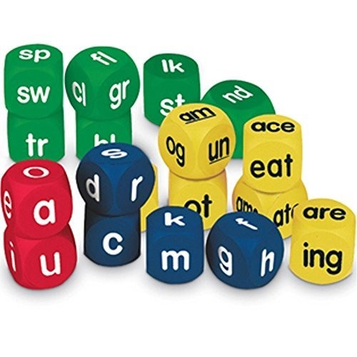 Learning Resources Phonics Cubes Class Set, Set of 18 [1]