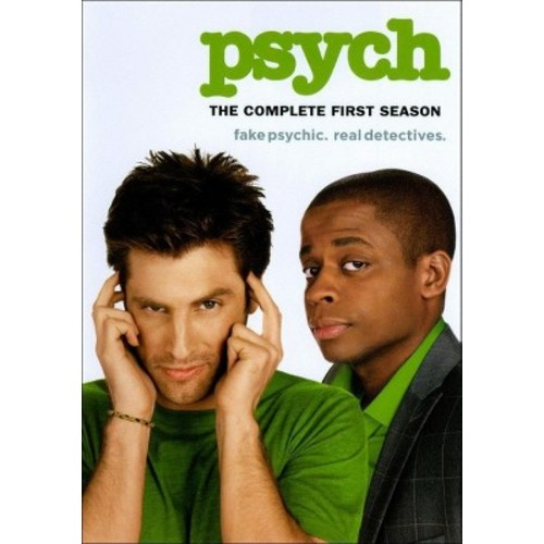 Psych: The Complete First Season (4 Discs) (dvd_video)