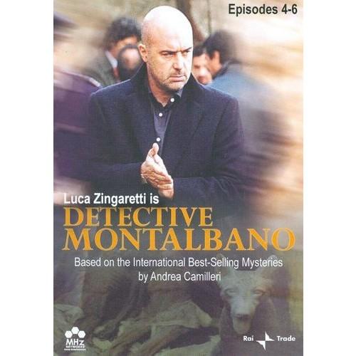 Detective Montalbano: Episodes 4-6 [3 Discs] [DVD]