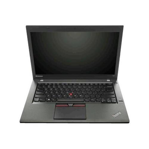 Lenovo ThinkPad T450 20BV - Ultrabook - Core i7 5600U / 2.6 GHz - Windows 7 Pro 64-bit / Windows 8.1 Pro 64-bit downgrade - pre-installed: Windows 7 - 8 GB RAM - 256 GB SSD TCG Opal Encryption 2 (Open Box Product, Limited Availability, No Back Orders) (20BV000DUS-OB)