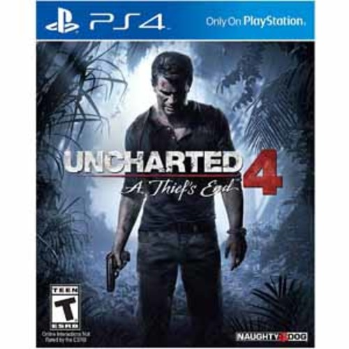 Uncharted 4: A Thief's End - PlayStation 4 - PRE-OWNED
