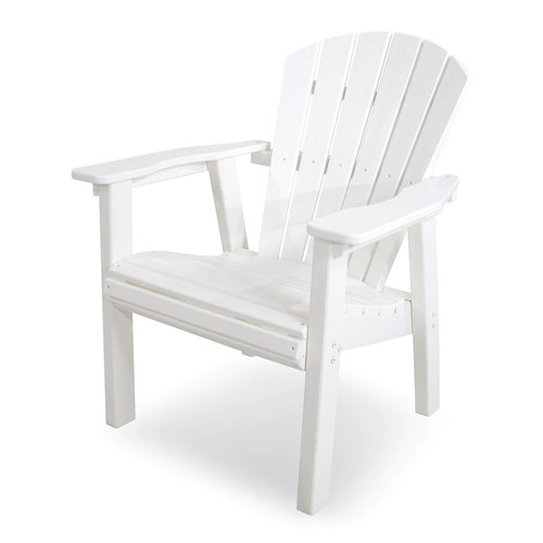 POLYWOOD Seashell Outdoor Casual Chair