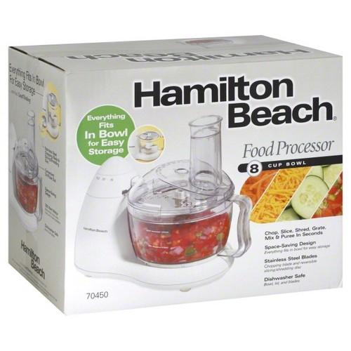 Hamilton Beach Food Processor, 8-Cup Bowl, 1 processor