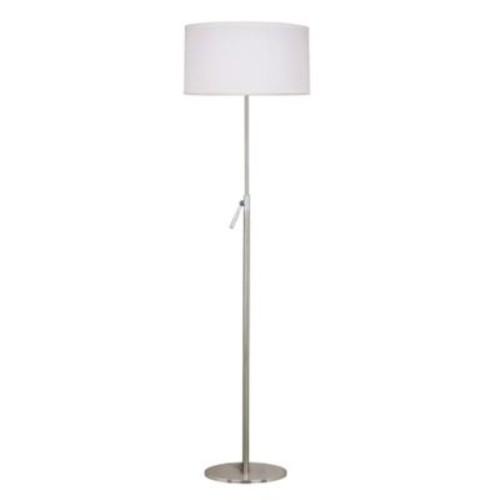 Kenroy Home Propel Floor Lamp in Brushed Steel