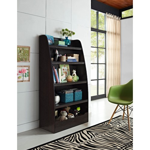 Dorel Kids 4-shelf Bookcase Multiple Colors