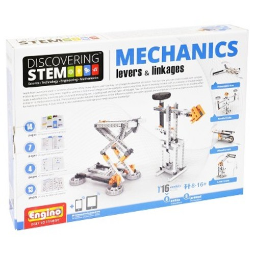 Engino STEM Mechanics Levers & Linkages Kit
