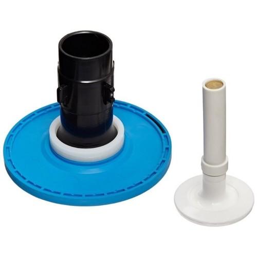 Zurn 1.6-gallon Closet Repair Kit With Aqua Diaphragm Clamshell Pack - Black