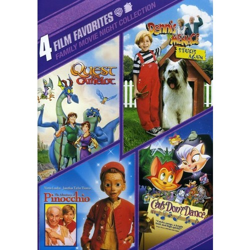 Family Movie Night Collection: 4 Film Favorites [2 Discs] [DVD]