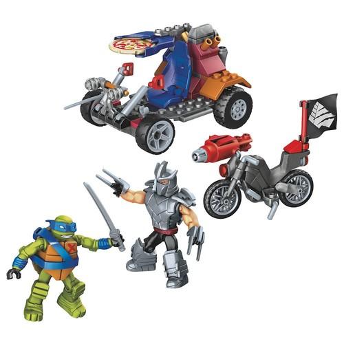 Leo Shredder Showdown Set Mega Bloks 32713 Animation