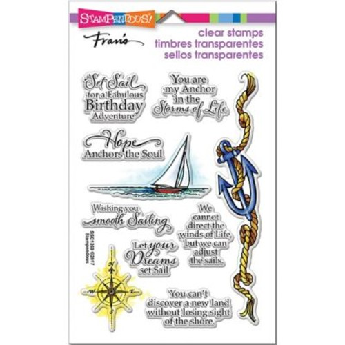 Stampendous Perfectly Clear Stamps 7.25