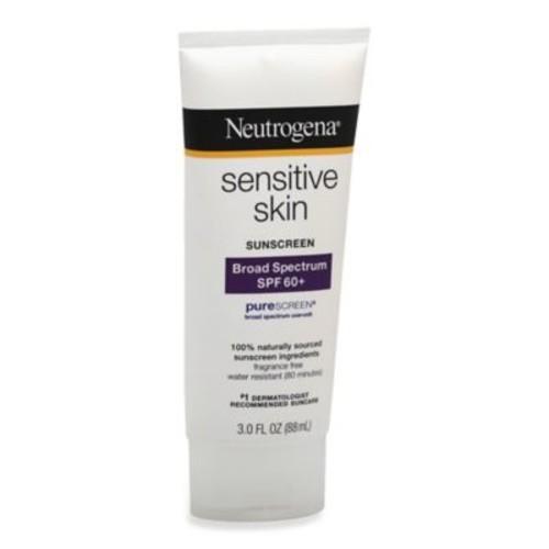 Neutrogena 3 oz.Sensitive Skin Broad Spectrum Sunscreen SPF 60+