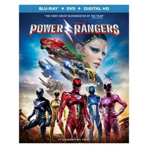 Saban's Power Rangers (Blu-ray + DVD + D...