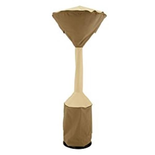 Classic Accessories Veranda Stand Up Patio Heater Cover - Square & Round Bases [Pebble, Square Base]