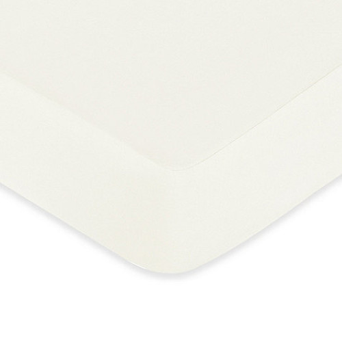 Sweet Jojo Designs Night Owl Fitted Crib Sheet in Ivory