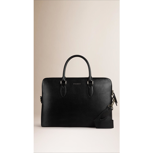 The Slim Barrow in London Leather