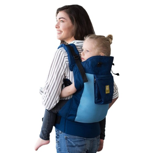 LILLEbaby Carryon Airflow Toddler Baby Carrier - Blue and Aqua