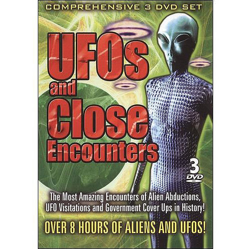 UFOs and Close Encounters [3 Discs] [DVD]