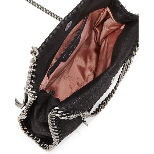 Mini Falabella Crossbody Bag, Black