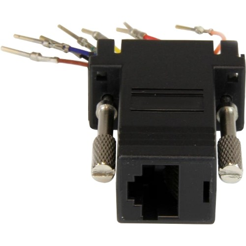 StarTech.com DB9 to RJ45 Modular Adapter - M/F (GC98MF)
