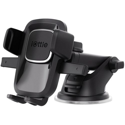 iOttie - Easy One Touch 4 Dash & Windshield Mount for Mobile Phones - Black
