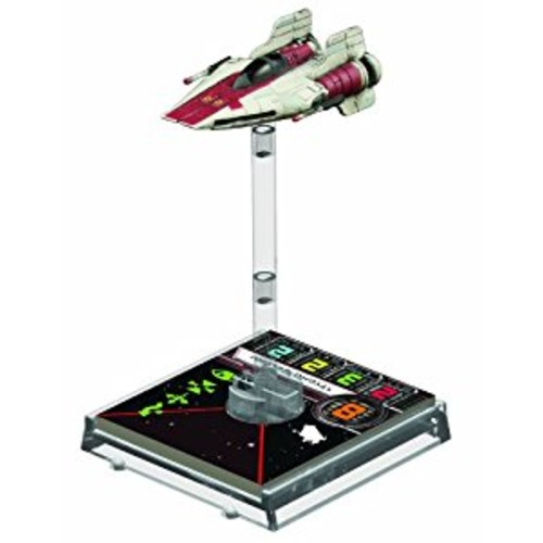 Star Wars X-Wing: A-Wing Expansion Pack: Fantasy Flight Games: Toys & Games [Standard Packaging]