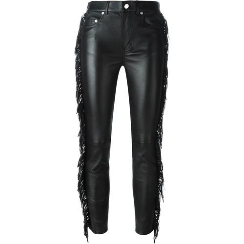 SAINT LAURENT Fringed Trousers
