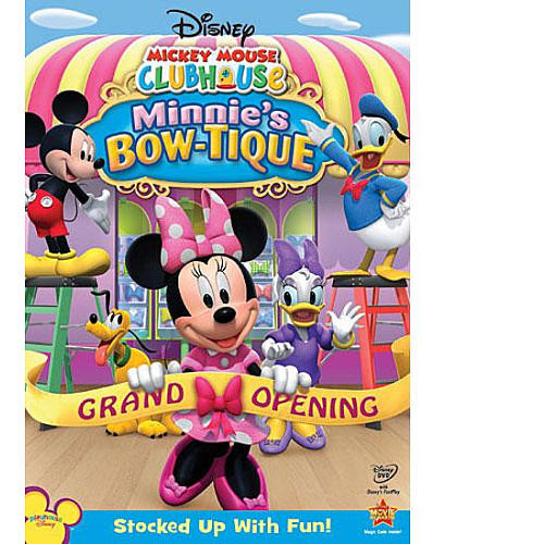 Disney Mickey Mouse Clubhouse: Minnie's Bow-tique DVD