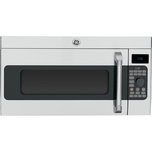 GE Cafe Series CVM1790SSSS 1.7 cu. ft. Over-the-Range Microwave Oven w/ Convection - Stainless Steel