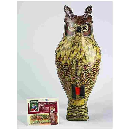 Dalen NE-0R Inflatable Great Horned Ornament Owl, 2'