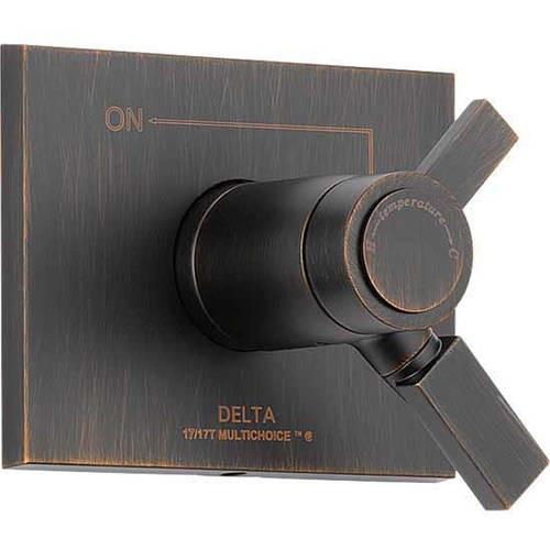 Delta Vero TempAssure 17T Series 1-Handle Vol./Temp. Control Valve Trim Kit Only in Venetian Bronze (Valve Not Included)